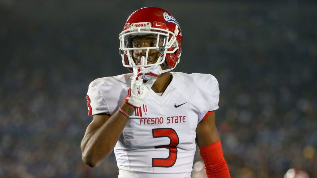new product 5de54 b6710 Fresno State WR Keesean Johnson drafted by Cardinals